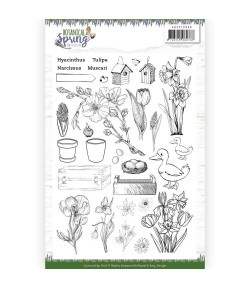 TAMPONS CLEAR BOTANICAL SPRING  ADCS10066