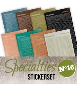 LOT 8 STICKERS SPECIALTIES - N°16