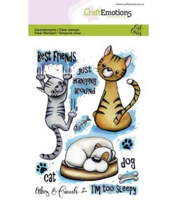 TAMPONS CHAT ET CHIEN - A6