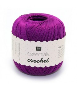 COTON MERCERISÉ ESSENTIALS CROCHET - VIOLET (007)