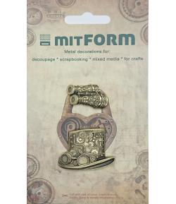 SUJETS EN MÉTAL 3.2X2 - 4X3 CM - MITFORM049