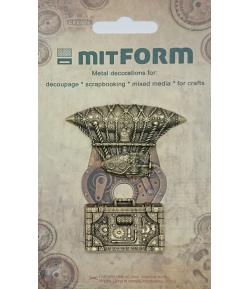 SUJETS EN MÉTAL 3.7X3.6 - 6X3.9 CM - MITFORM051