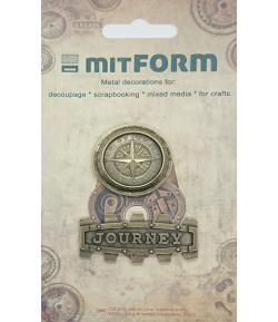 SUJETS EN MÉTAL 5X2.3 - 3.3 CM - MITFORM053