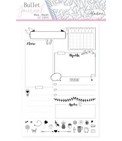TAMPONS PLANNER PAGE MONTH - 03918 BULLET JOURNAL