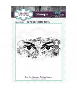TAMPON MYSTERIOUS GIRL - CREATIVE EXPRESSIONS