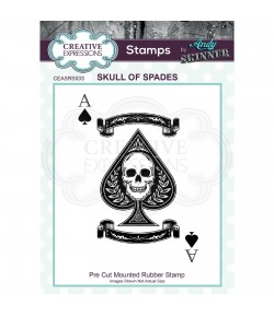 TAMPON SKULL OF SPADES - CREATIVE EXPRESSIONS