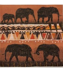 SERVIETTE ETHNIK ELEPHANTS