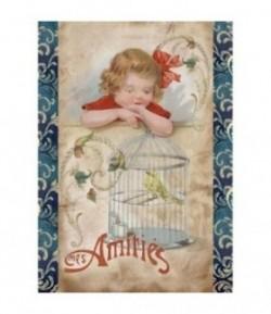 FEUTRINE AMITIES 14  X 20.5 CM - 1 MM