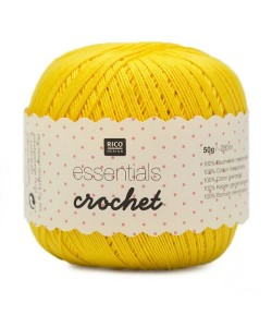 COTON MERCERISÉ ESSENTIALS CROCHET - JAUNE (013)
