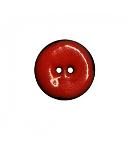 BOUTON COCO  2.5 CM - ROUGE