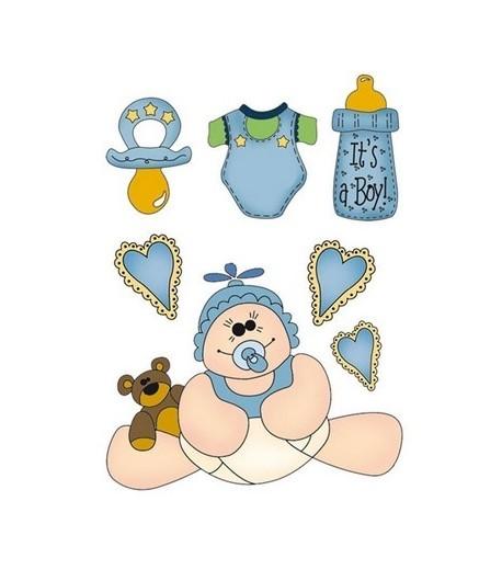 FEUTRINE BABY BOY 14  X 20.5 CM - 1 MM