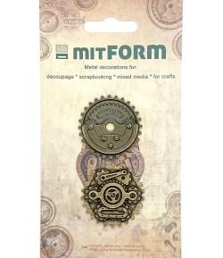 SUJETS EN MÉTAL DIAM 3.7 CM - MITFORM001