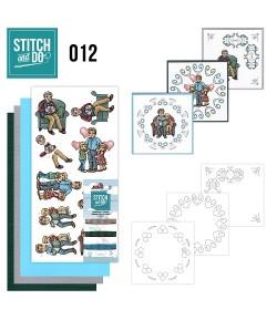 KIT 3D A BRODER FAMILLE STDO012