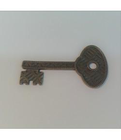 CLE MÉTAL - 4.5 X 2.5 CM - MITFORM 106
