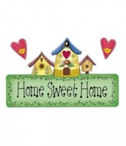 FEUTRINE HOME SWEET HOME 14  X 20.5 CM - 1 MM