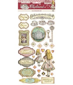 CHIPBOARD ALICE 15X30 - DFLCB12G