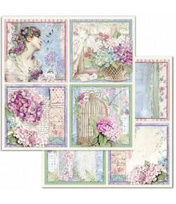 PAPIER CARDS 30 X 30 CM - SBB697 STAMPERIA