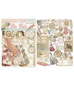 FORMES CARTON - DIE CUTS PRINCESS DFLDC16