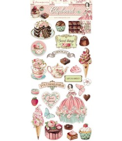 CHIPBOARD SWEETY 15X30 - DFLCB11