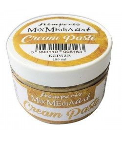 CREAM PASTE METALLIC GOLD 150 ML - K3P53B