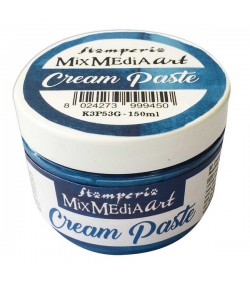 CREAM PASTE METALLIC BLUE 150 ML - K3P53G
