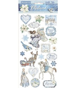 CHIPBOARD WINTER TALES 15X30 - DFLCB09