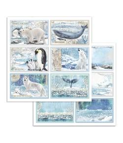 PAPIER CARDS 30 X 30 CM - SBB732 STAMPERIA