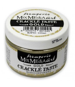 PATE CRAQUELE - CRACKLE PAST MONOCOMPOSANT OR 150ML