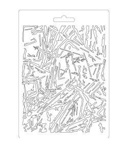 MOULE PVC FLEXIBLE GLASS EFFECT K3PTA559 STAMPERIA