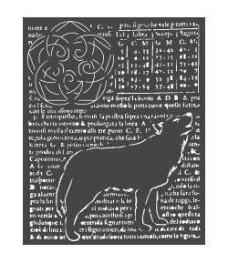 POCHOIR WOLF 20X25 EP 0.25 KSTD057 STAMPERIA