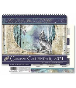 CALENDRIER COSMOS STAMPERIA ECL2108