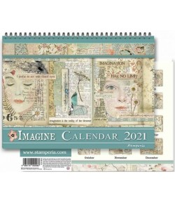 CALENDRIER IMAGINE STAMPERIA ECL2106