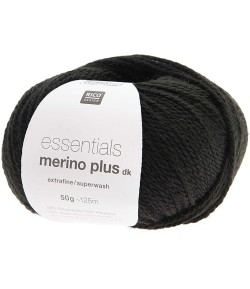 LAINE MERINO PLUS DK NOIR  (014)