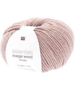 LAINE MEGA WOOL CHUNKY MAUVE (024)