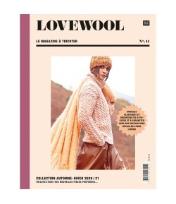 LIVRE TRICOT LOVEWOOL N° 11 AUTOMNE HIVER