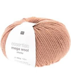 LAINE MEGA WOOL CHUNKY VIEUX ROSE (022)