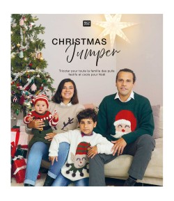 LIVRE TRICOT CHRISTMAS JUMPER RICO