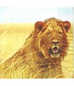 SERVIETTE JEUNE LION