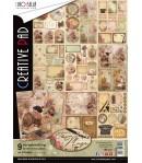 BLOC 9 FEUILLES THE MUSE CIAO BELLA A4 CBCL028