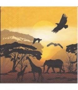 SERVIETTE AFRIKA SAFARI