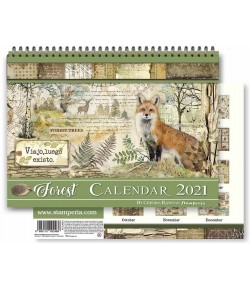 CALENDRIER FOREST STAMPERIA ECL2105