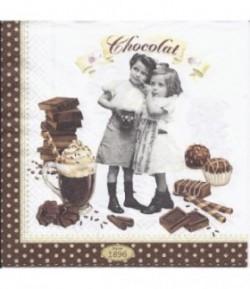 SERVIETTE CHOCOLAT 2