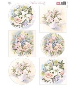 FEUILLE DECOUPAGE MARIANNE DESIGN - MB0171