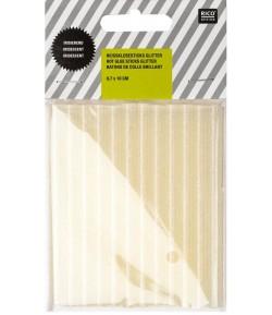 MINI CARTOUCHES DE COLLE BLANC BRILLANT POUR PISTOLET 0.7X10CM