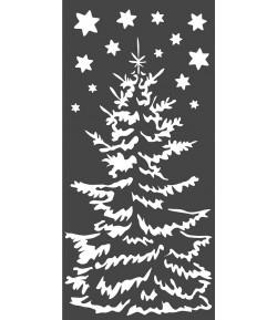 POCHOIR CHRISTMAS TREE 12 X 25 CM - KSTDL36 STAMPERIA