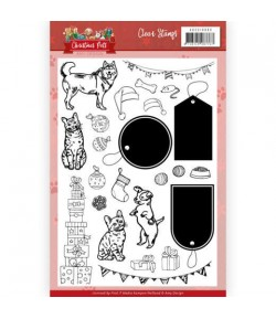 TAMPONS CLEAR CHRISTMAS PETS ADCS10069
