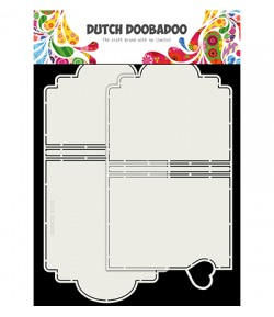 GABARIT MINI ALBUM - DUTCH DOOBADOO (799)