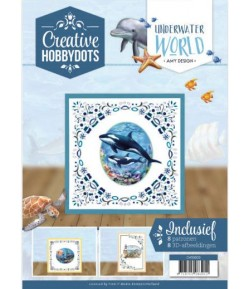 LIVRET CARTES DOT ET FEUILLES 3D UNDERWATER WORLD
