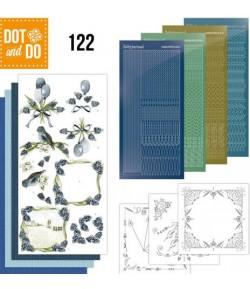 KIT 3D DOT BLEU - 122