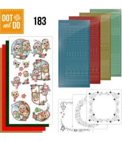 KIT 3D DOT CHRISTMAS VILLAGE - 183